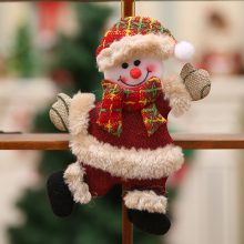 Christmas Ornaments Gift Santa Claus Snowman Tree Toy Doll Hang Decorations Christmas Decorations For Home C201030