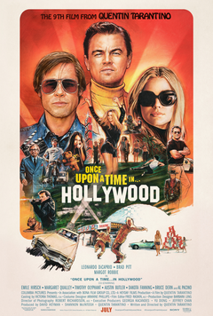 once upon time in hollywood ,a comedy drama film